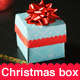 Christmas Box Template - GraphicRiver Item for Sale