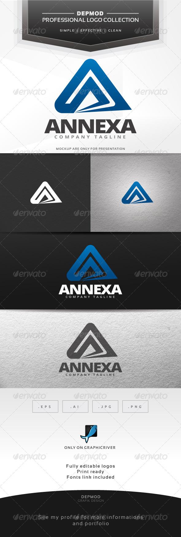 GraphicRiver Annexa Logo 7193890