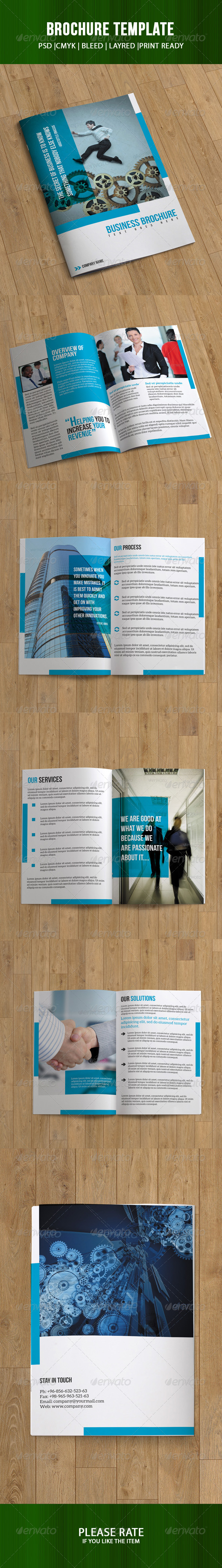 GraphicRiver Bifold Brochure-Business 7193970