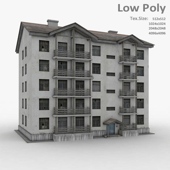 3DOcean Building 035 7194392