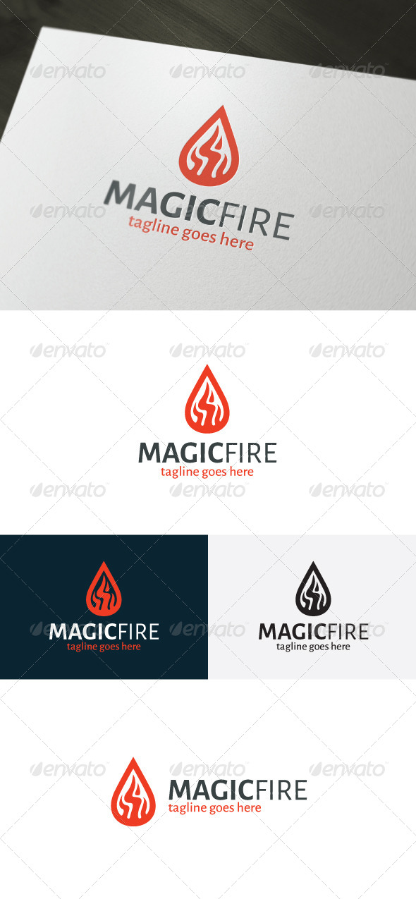 GraphicRiver Magic Fire Logo 7195404