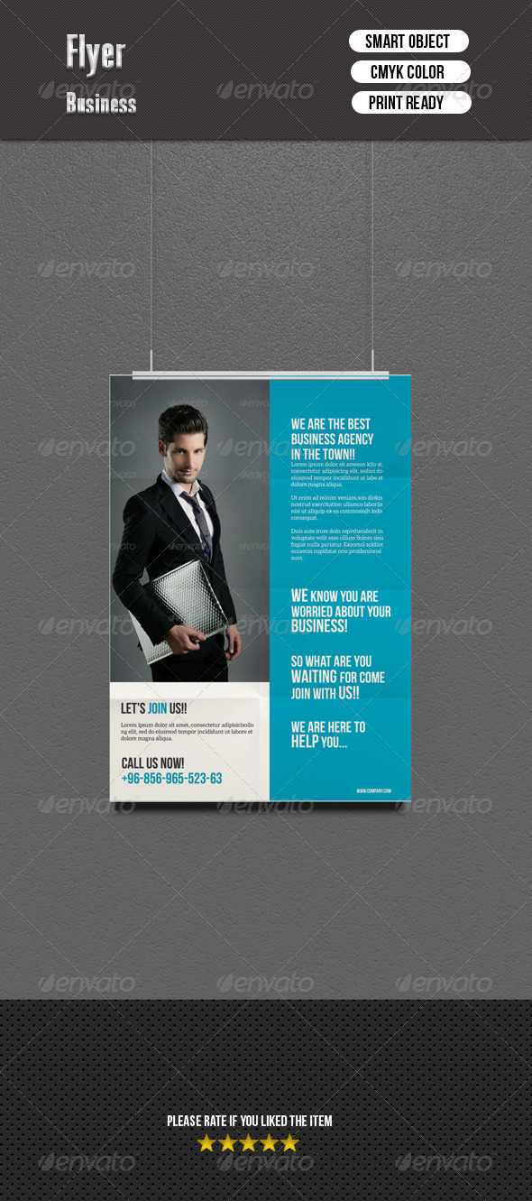 GraphicRiver Corporate Flyer 7163544