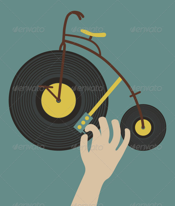 GraphicRiver Bike Dj 7197067