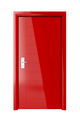 Red door with electronic lock - PhotoDune Item for Sale
