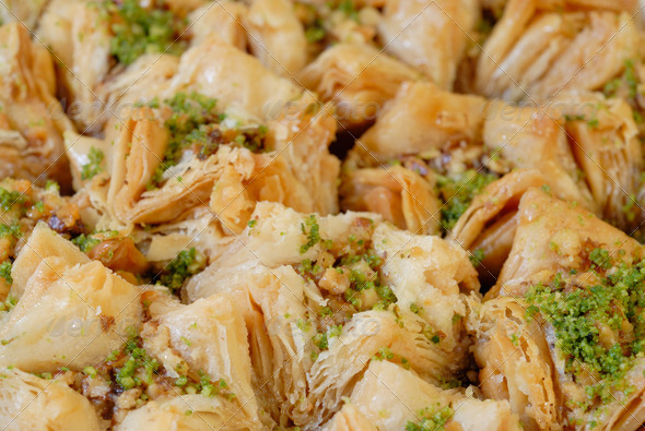 East sweets. Baklava - Stock Photo - Images