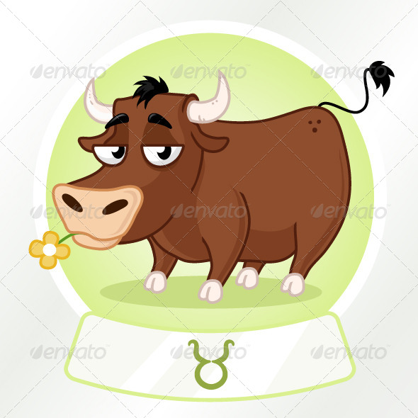 GraphicRiver Taurus Horoscope Sign 7198263