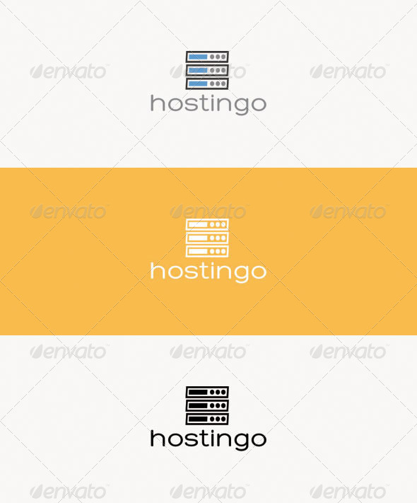 GraphicRiver Hostingo Logo 7153200