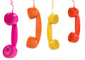 Hanging colored handsets - PhotoDune Item for Sale