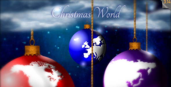 After Effects Project - VideoHive Christmas World Greeting card 755561