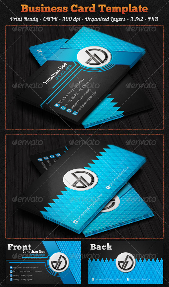 GraphicRiver Creative Business Card 7187667