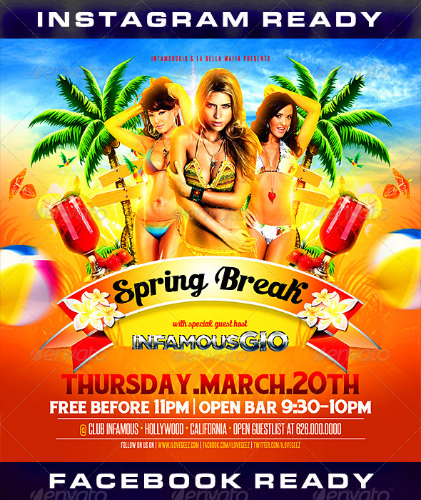 GraphicRiver Spring Break 5 7169071