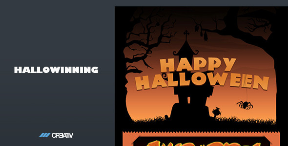 Hallowinning Email Template