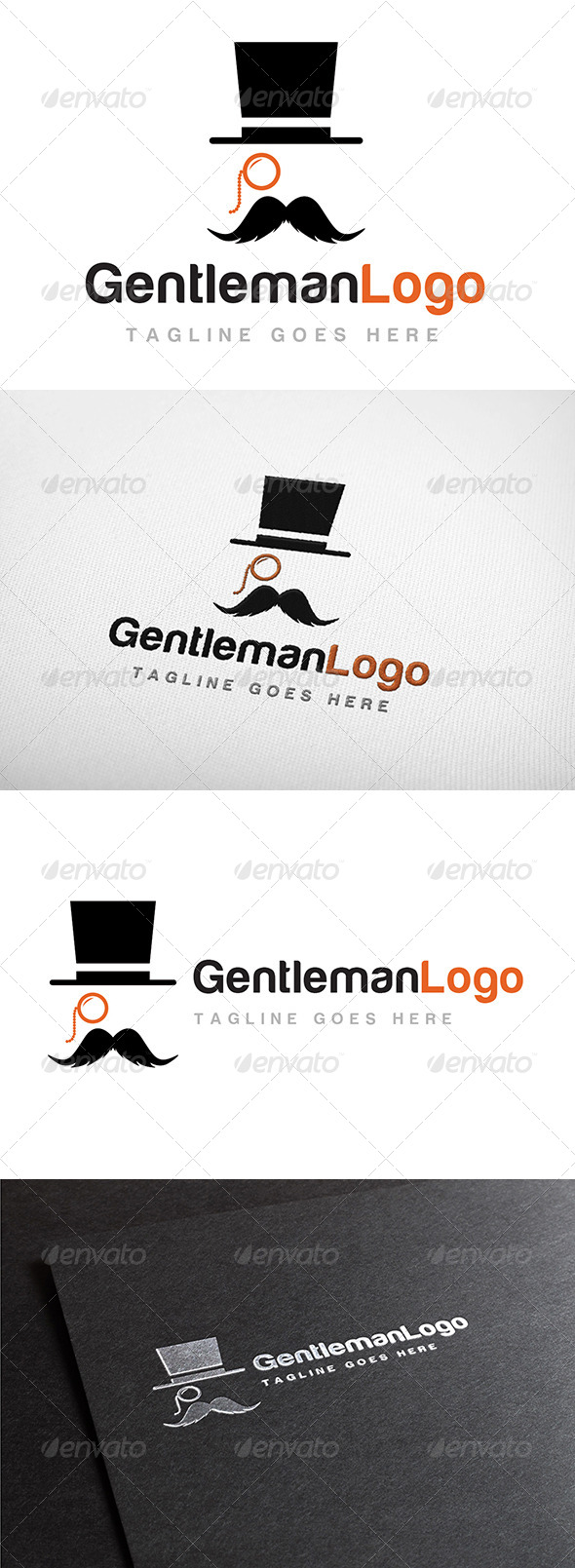 GraphicRiver Gentleman Logo 7156564