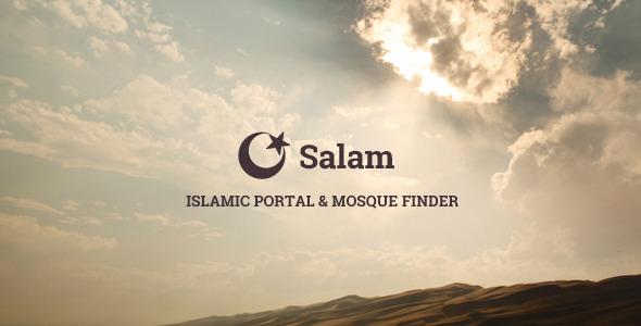 ThemeForest Salam Islamic Portal & Mosque Finder 7162309