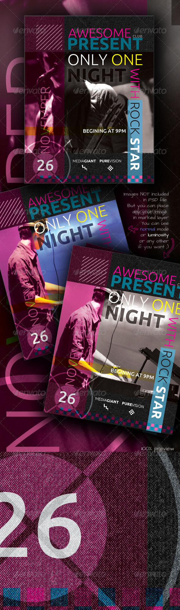 Awesome Club Flyer - Clubs & Parties Events