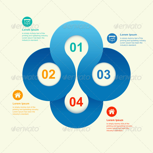 GraphicRiver Round Numbered Banner Info Graphic 7180249