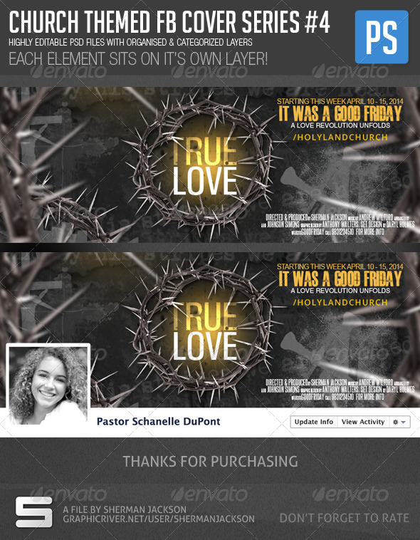 GraphicRiver Church Christian Themed FB Cover Series#4 7214765