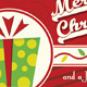Retro Merry Christmas Card V1 - GraphicRiver Item for Sale