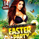 Easter Party - Flyer PSD Tempate - GraphicRiver Item for Sale