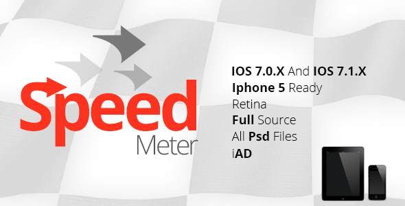 CodeCanyon Speed Meter & Gps Iphone Ipad App with iAD 7177864