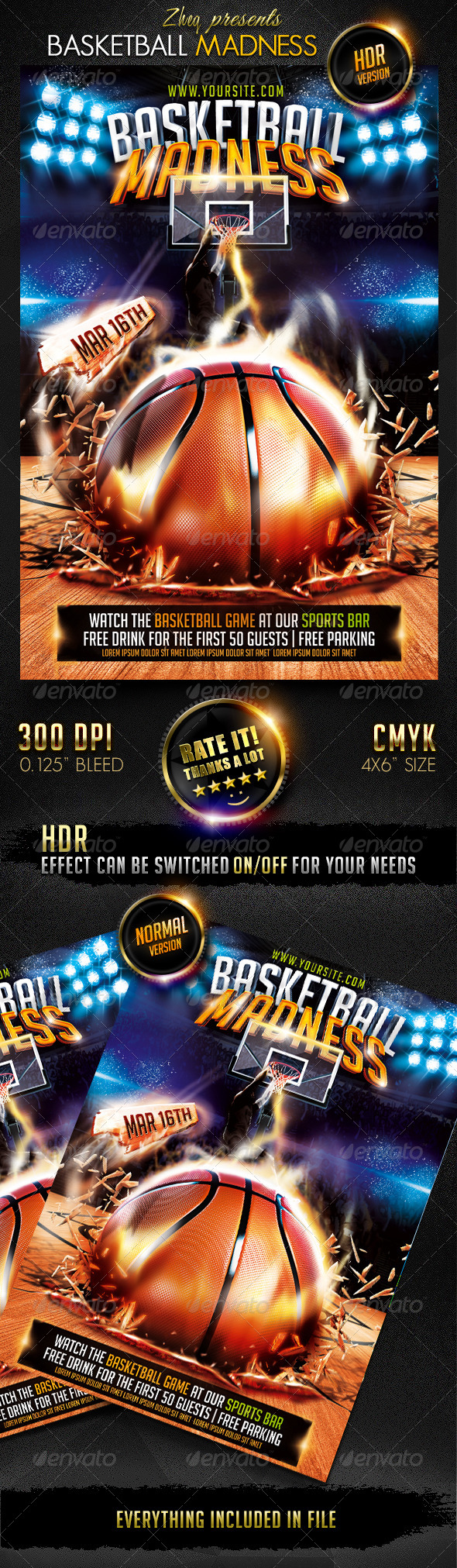 GraphicRiver Basketball Madness 7190203