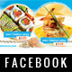 SeaFood Timeline Cover - GraphicRiver Item for Sale