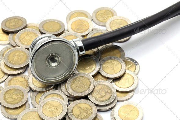 financial examination healthy concept - Stock Photo - Images