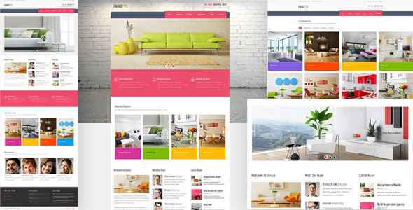 Innova - Interior & Funiture WordPress CMS Theme - Corporate WordPress