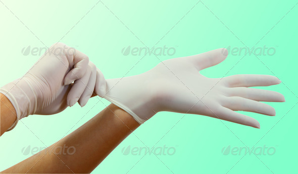 Surgical Gloves - Stock Photo - Images
