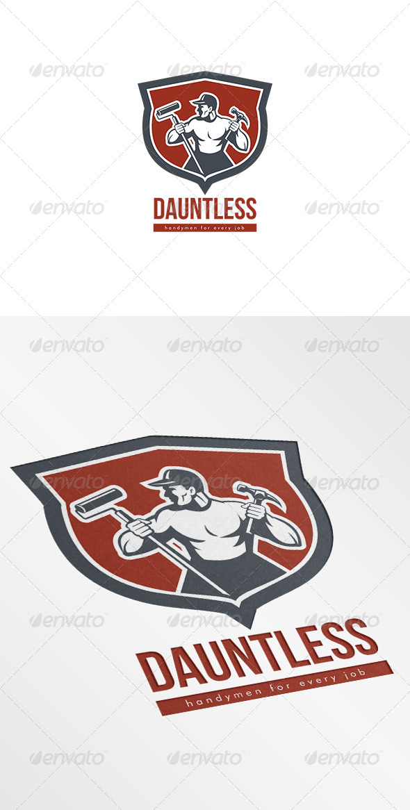 GraphicRiver Dauntless Handyman Logo 7229829