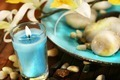 Blue aromatherapy candle - PhotoDune Item for Sale