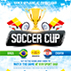 Soccer Cup 2014 poster - GraphicRiver Item for Sale