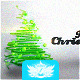 Particles Christmas Tree Video Greeting Card - VideoHive Item for Sale