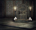 Dark Throne Palace Background - PhotoDune Item for Sale
