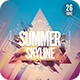 Summer Skyline Flyer - GraphicRiver Item for Sale