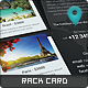 World Traveler Rack Card - GraphicRiver Item for Sale