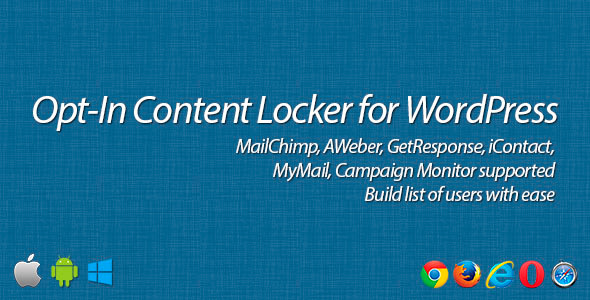 Opt-In Content Locker - CodeCanyon Item for Sale