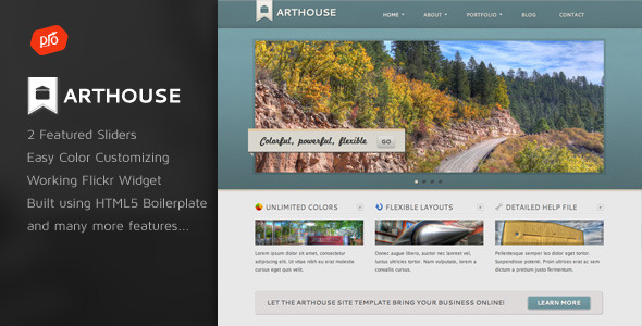 Arthouse - Premium Business & Portfolio Template