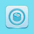 Blue icon edge light - PhotoDune Item for Sale
