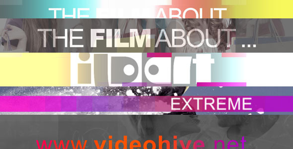 VideoHive After Effects Project - The film about 760706