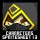 Characters Spritesheet 13 - GraphicRiver Item for Sale