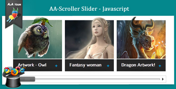 AA-Scroller Slider - Javascript - CodeCanyon Item for Sale