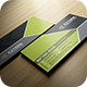 Modern Green Business Card - GraphicRiver Item for Sale