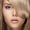 Beautiful Blond Girl. Healthy Long Hair. - PhotoDune Item for Sale