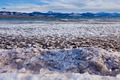 Lage Laberge freeze-up ice floes Yukon Canada - PhotoDune Item for Sale