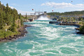 Whitehorse hydro power dam spillway Yukon Canada - PhotoDune Item for Sale