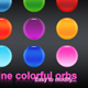Nine colorful orbs. - GraphicRiver Item for Sale