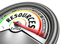 resources conceptual meter - PhotoDune Item for Sale