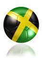 jamaica soccer ball on white background - PhotoDune Item for Sale
