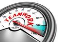 teamwork conceptual meter - PhotoDune Item for Sale